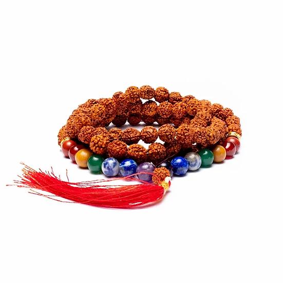Mala chakra rudraksha 108 beads
