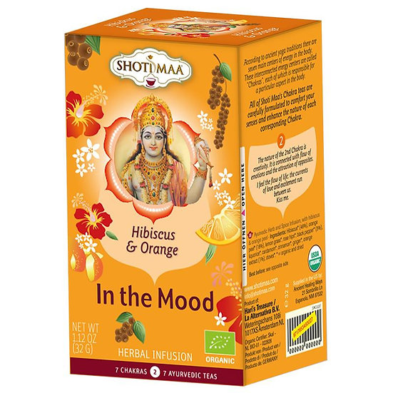 Shoti Maa In the Mood organic herbal tea