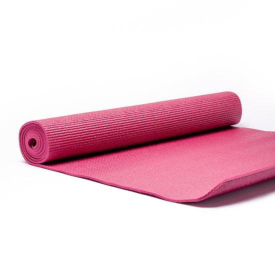 Yogi & Yogini Yoga Mat 5mm - Deep Pink