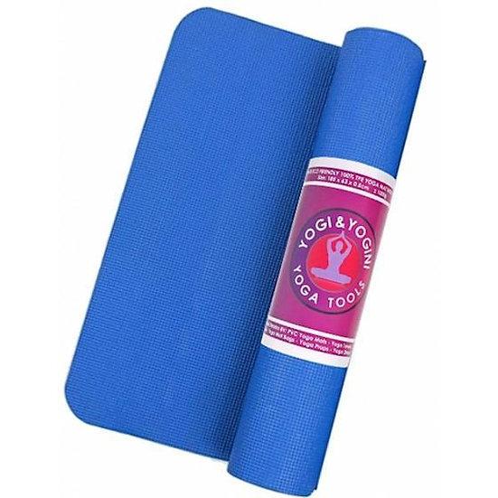 Yogi & Yogini Yoga Mat 5mm - Blue