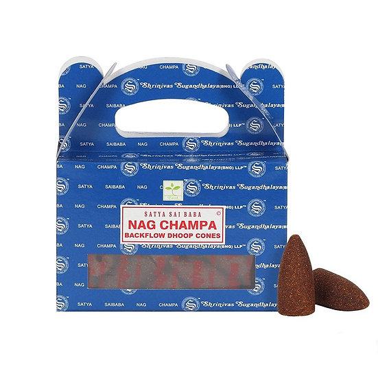 Nag Champa backflow incense cones - Large