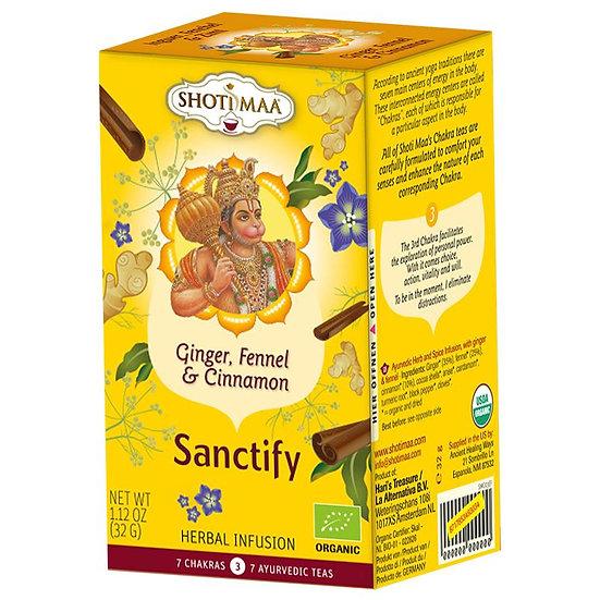 Shoti Maa Sanctify organic herbal tea