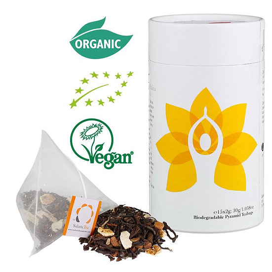 I Do - Solar Plexus Chakra Organic Pyramid Teabags