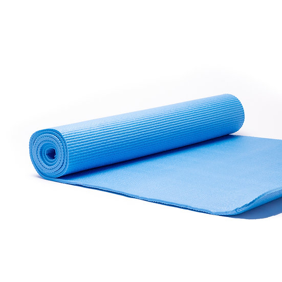 Yogi & Yogini Yoga Mat 5mm - Blue