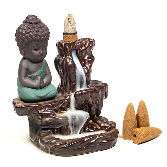 Backflow incence burner ''Little Buddha''