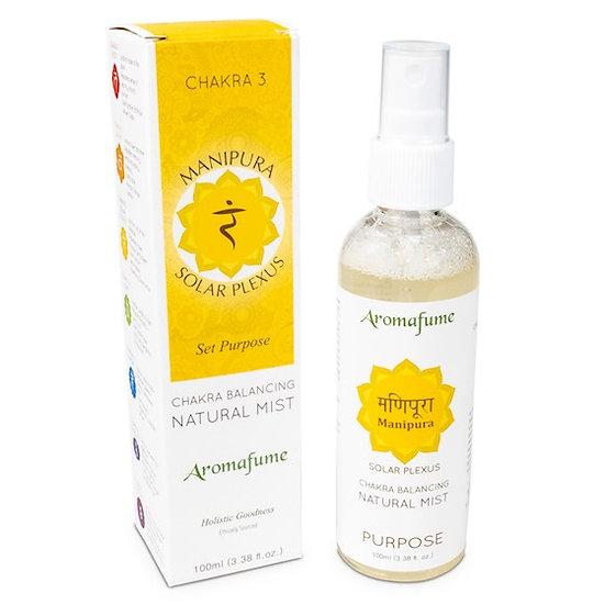 Natural air freshener spray 3rd chakra 100 ml