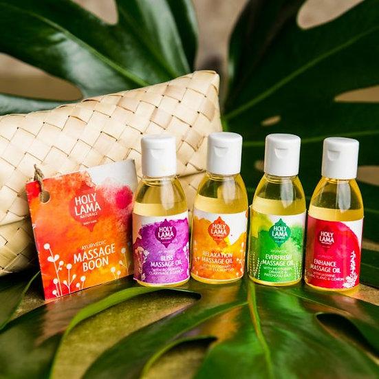 Holy Lama Massage Boon gift set
