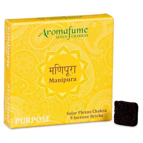 Aromafume Chakra incense bricks 3rd chakra