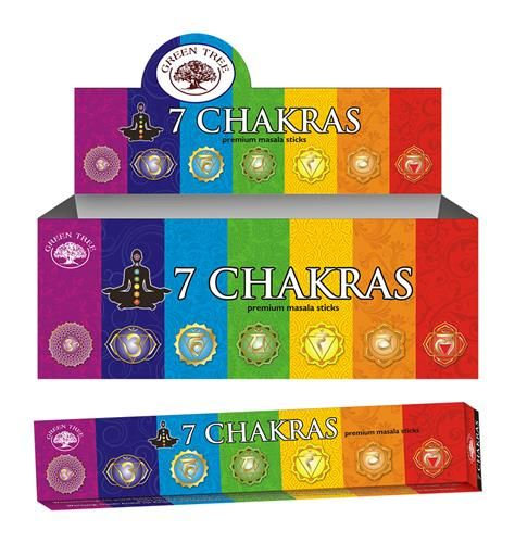7 Chakras Natural Incense