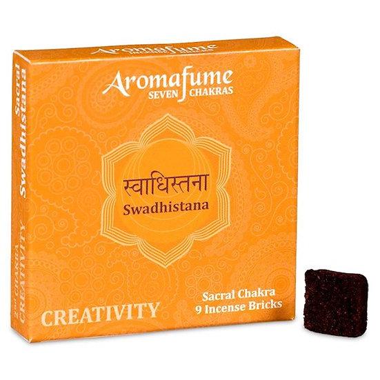 Aromafume Chakra incense bricks 2nd chakra