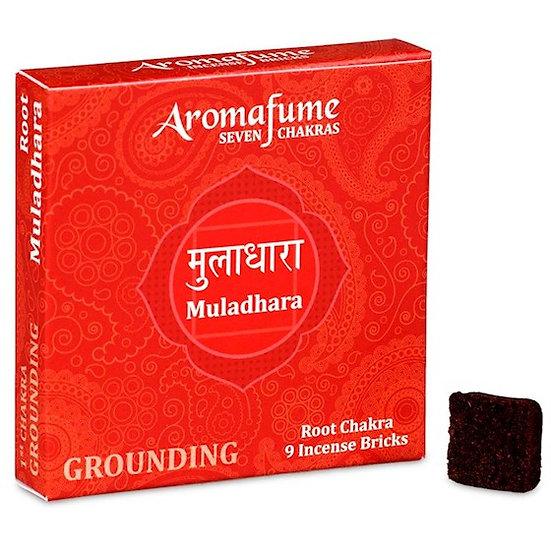 Aromafume Chakra incense bricks 1st chakra