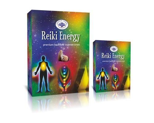 Reiki Energy Backflow Incense Cones