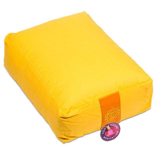 Yoga bolster/Med. Cushion 3rd Chakra Manipura