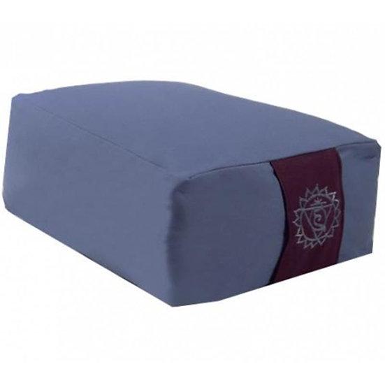 Yoga bolster/Med. Cushion 5th Chakra Vishuddha