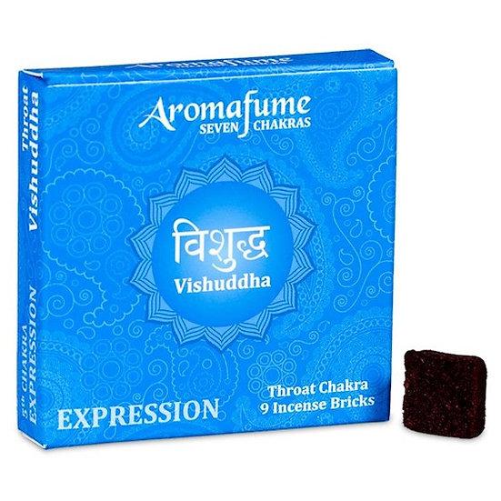 Aromafume Chakra incense bricks 5th chakra