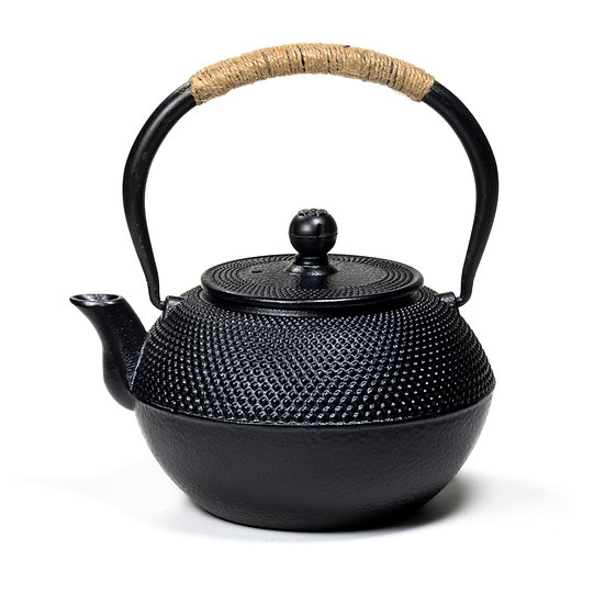 Japanese style Tetsubin cast iron 1,2 liter teapot