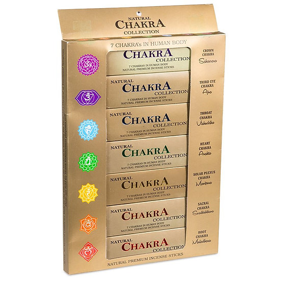 Incense 7 Chakra collection