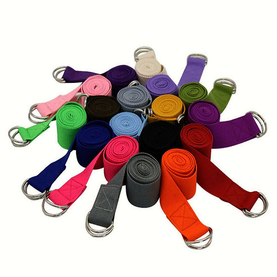 Yoga strap Cinch D-ring cotton