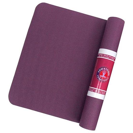 Yogi & Yogini Yoga Mat 5mm - Purple