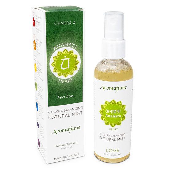 Natural air freshener spray 4th chakra 100 ml