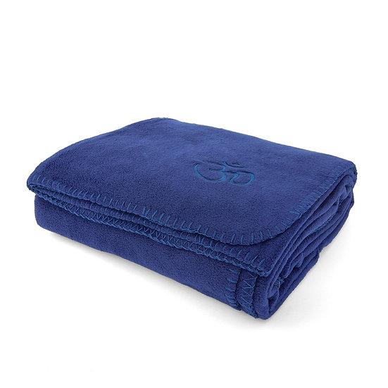 Yoga Blanket Asana dark blue