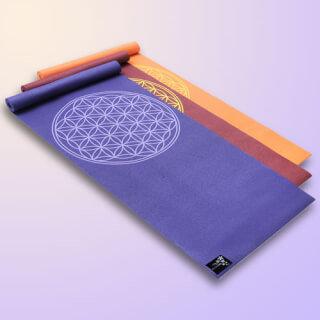 Yogistar® Basic Yoga Mat ''Flower of Life''