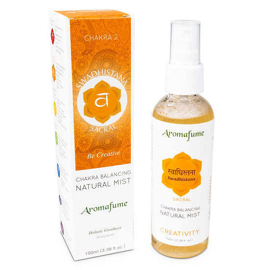 Natural air freshener spray 2nd chakra 100 ml