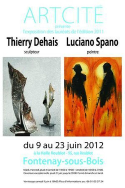 2012, La Halle Roublot en duo