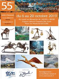 affiche expo oct 2019 LA BAULE.JPG