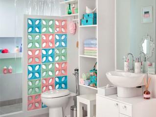 Decoração e organização em banheiros pequenos!