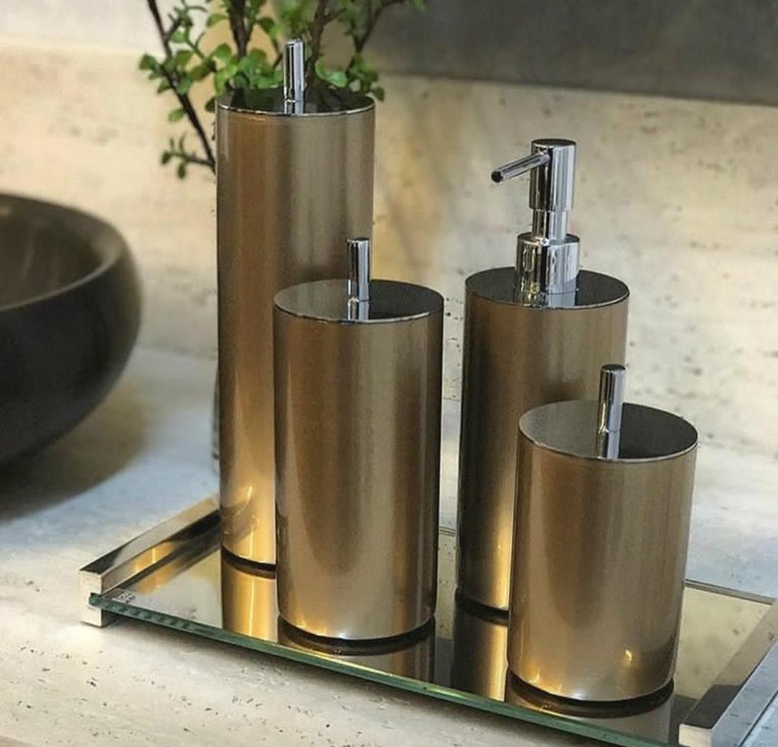 Conj.cilindro ouro