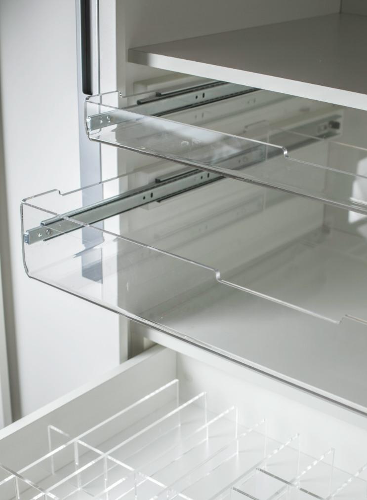 divisoria de acrilico para closet