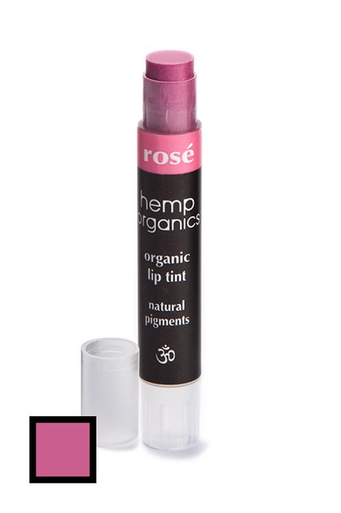 hemp organics lip tint - rose