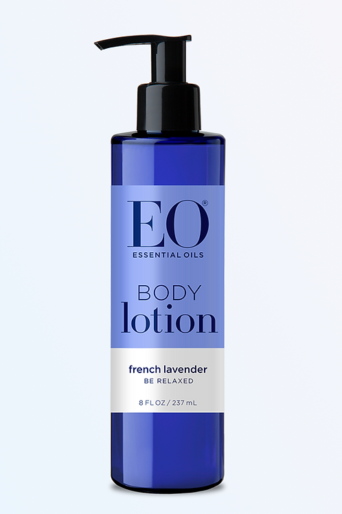 essential oils body lotion - french lavender