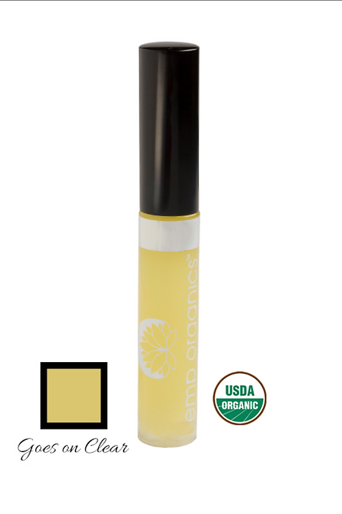 hemp organics lip gloss - clarity (clear)