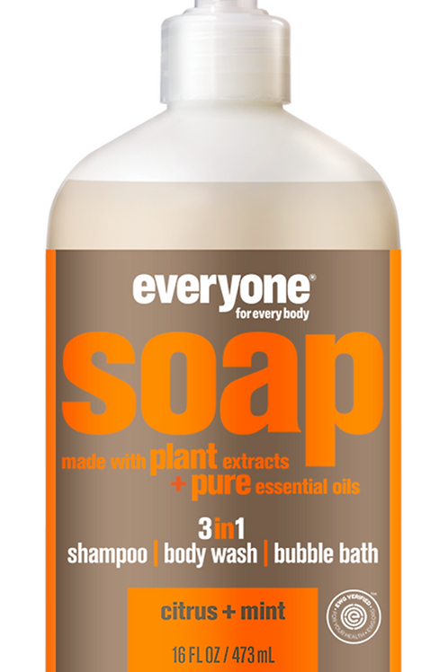 everyone soap - citrus + mint