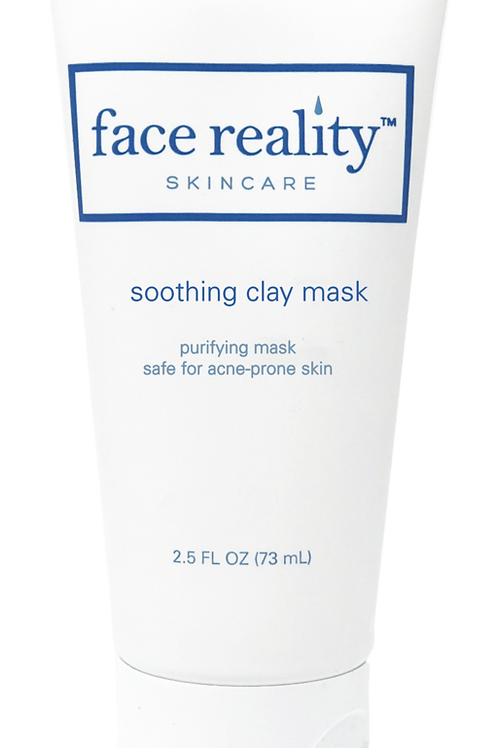 soothing clay mask