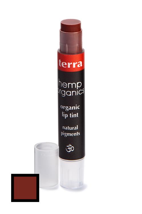 hemp organics lip tint - terra