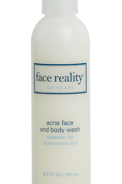 acne face and body wash