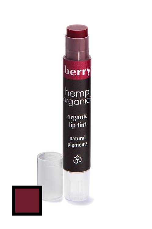 hemp organics lip tint - berry