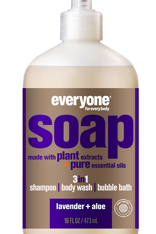 everyone soap - lavender + aloe