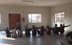 And rehearsal at Bokamoso