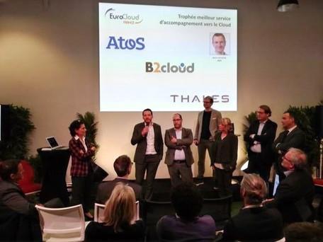 B2CLOUD finaliste des Trophées du Cloud 2019