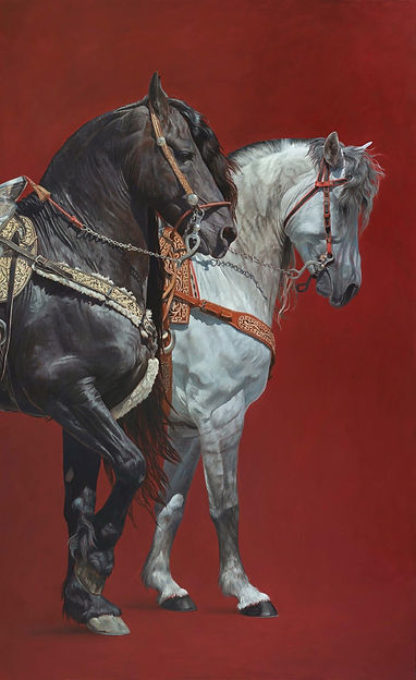 Von Grone-Dancing Horses.jpg