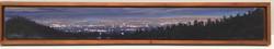 """Redwood Mountain acrylic on panel 5 1/2 x 35"""""""