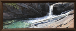 Jarvela-Swimming Hole, 21 x 51%22 $3800