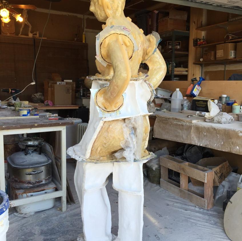 VAN DYKE SCULPTURE- mold making 3