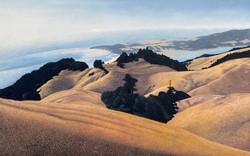 Racina-Morning on Bolinas Ridge, 31 x 48