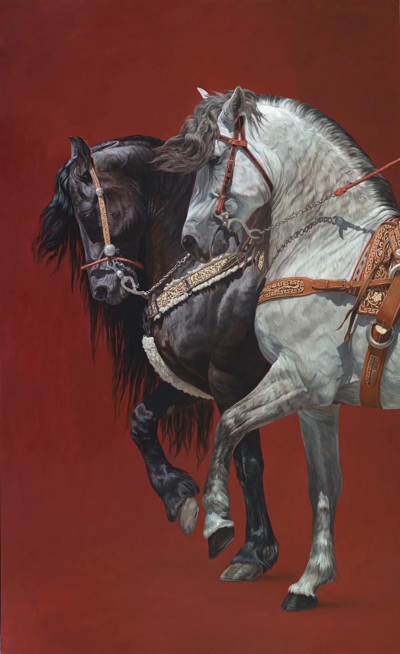 Von Grone-Dancing Horses II