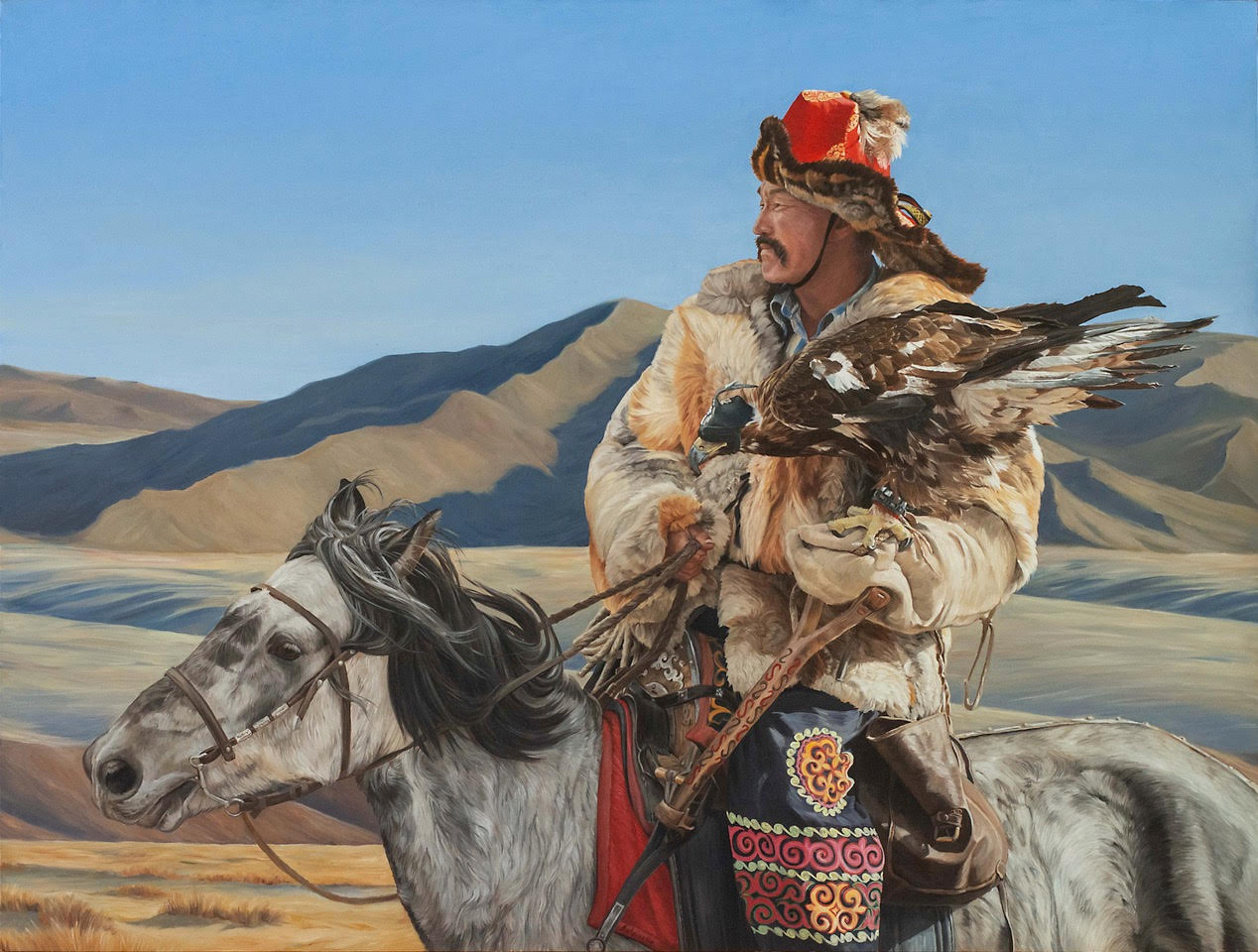 Von Grone-Eagle Hunter II, 38 x 50""